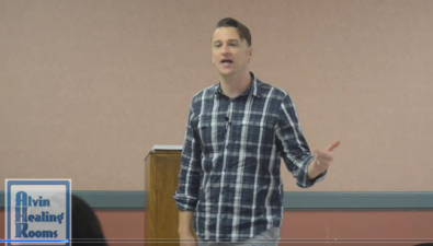 Tyler Johnson teaching at Healing Outside the Box conference