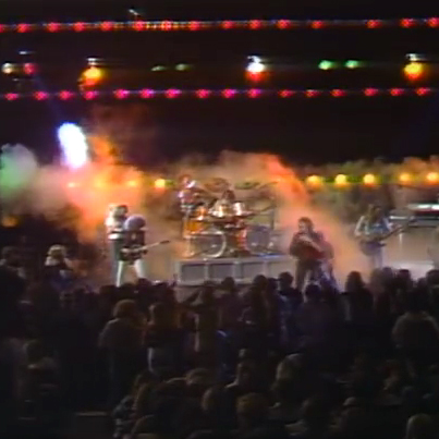 Steve Perry and band in concert