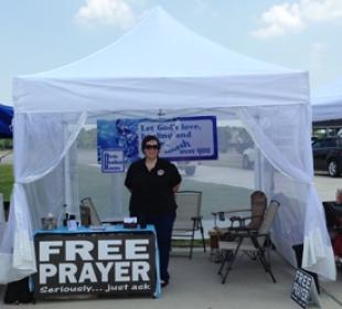 Free Prayer Booth
